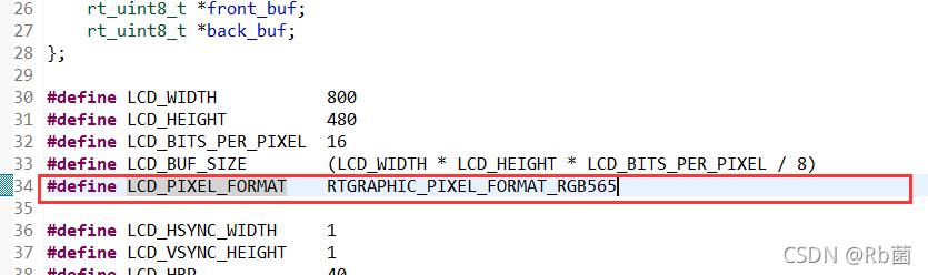 LCD_PIXEL_FORMAT