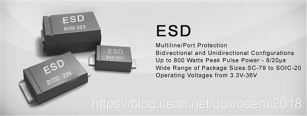 ESD保护二极管