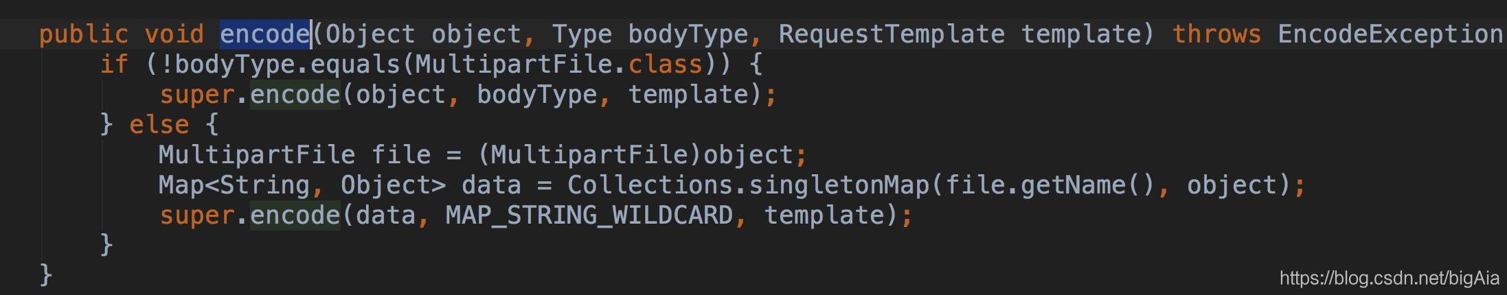 SpringFormEncoder的encode方法
