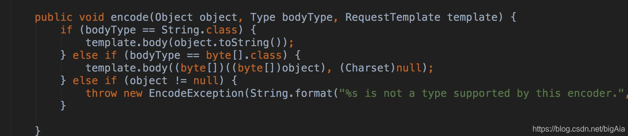 Encoder.Default.encode
