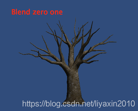 Blend zero one