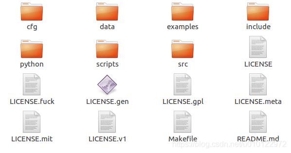 darknet文件夹