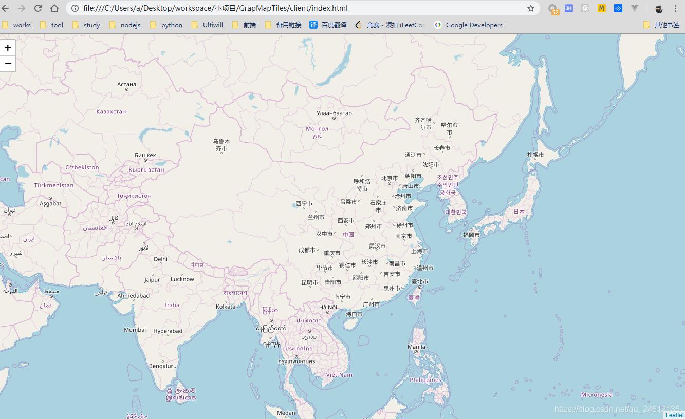 node 爬取瓦片制作自己的地图服务- qq_24612135的博客- CSDN博客