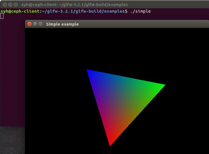 Ubuntu上配置编译GLFW并运行实例- xyh的博客- CSDN博客