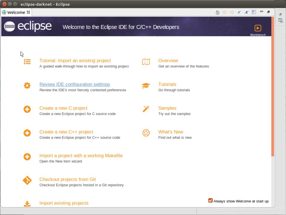 Eclipse - Darknet - Makefile project - IT閱讀