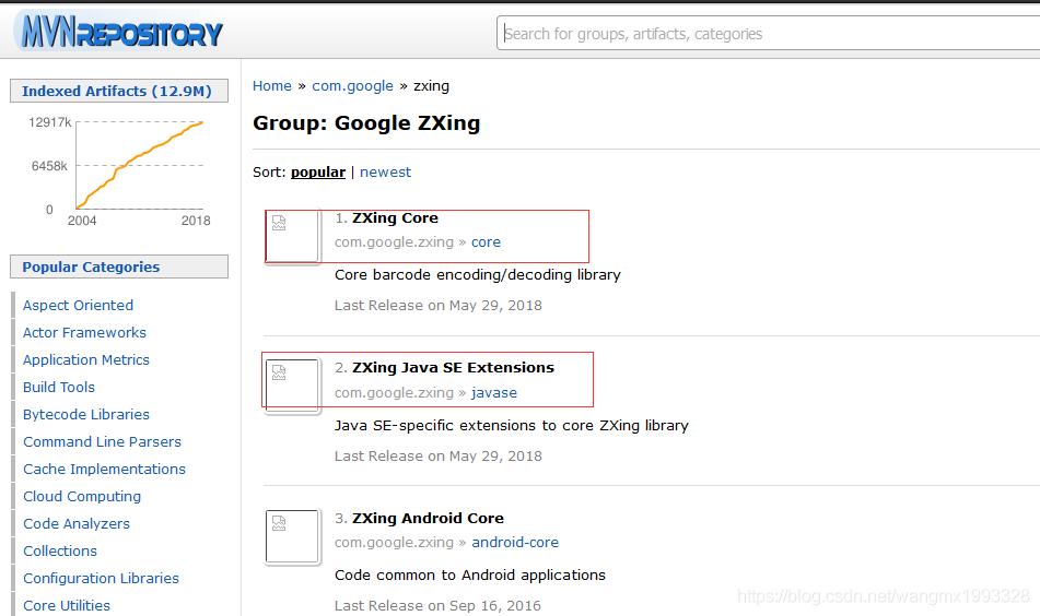 com google zxing 二维码生成与解析- 蚩尤后裔- CSDN博客
