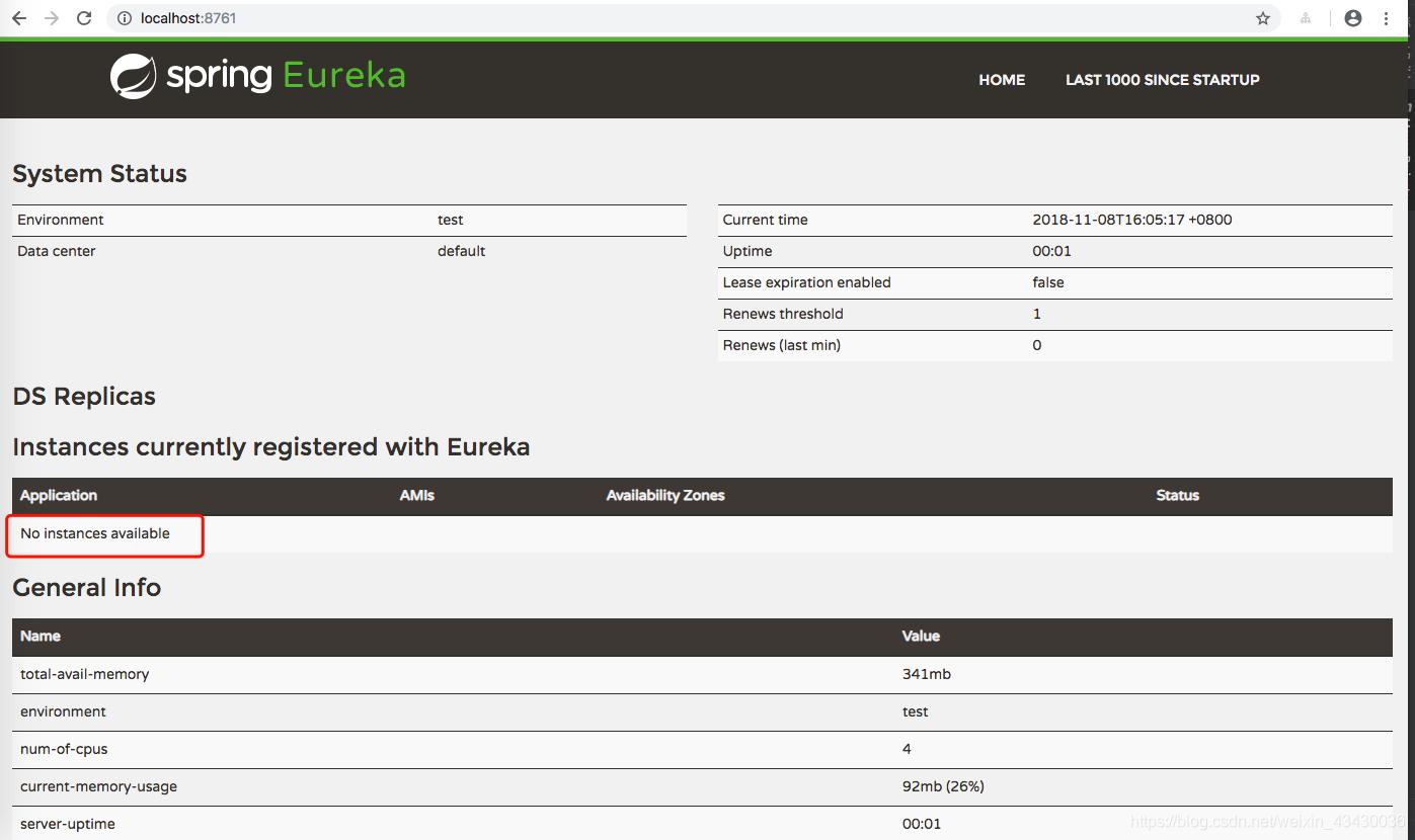 empty eureka