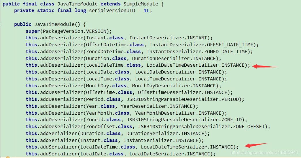 Spring Boot 中Java8 LocalDateTime 序列化问题- u011385940的