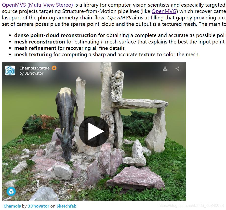 三维重建开源软件介绍- 代码天地