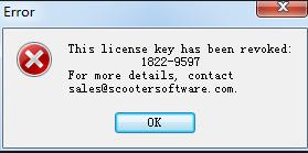 beyond compare key revoked