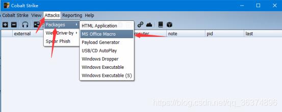 使用Cobalt Strike来钓鱼(MS Office Macro) - qianxiao996欢迎您- CSDN博客