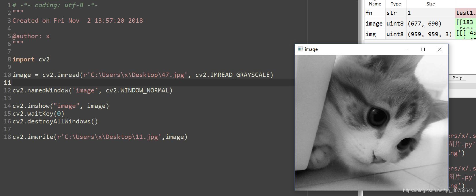 OpenCV-Python-(1)-图像数字化- 代码天地