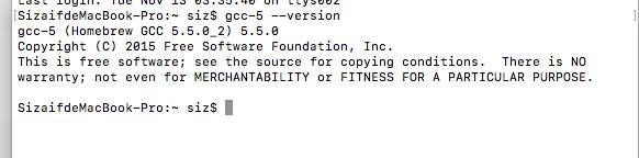 MacOX配置GCC编译器以及sublime支持c++11和输入和支持bits/stdc