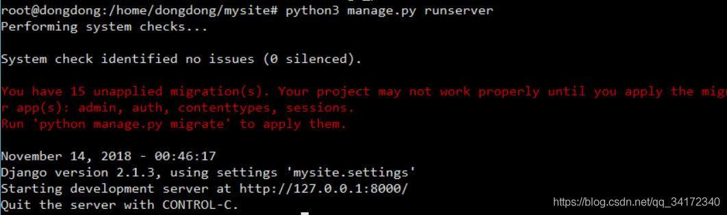 python3 6 7运行Django项目报错:ModuleNotFoundError: No module named