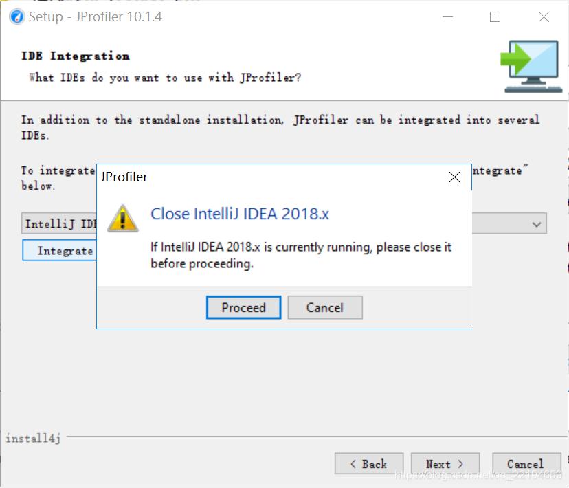 Part of the idea java plug-memory analysis tool (JProfiler