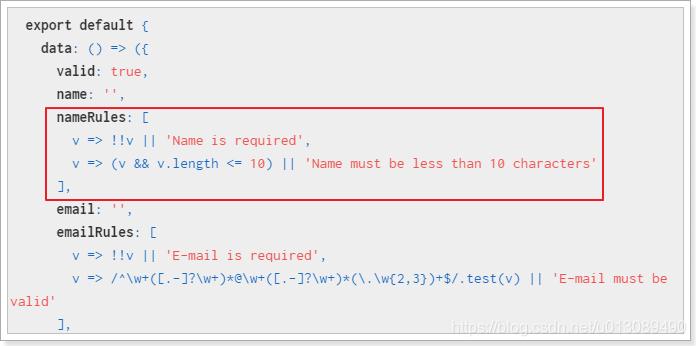 Vuetify笔记(6):v-form表单及校验- u013089490的博客- CSDN博客
