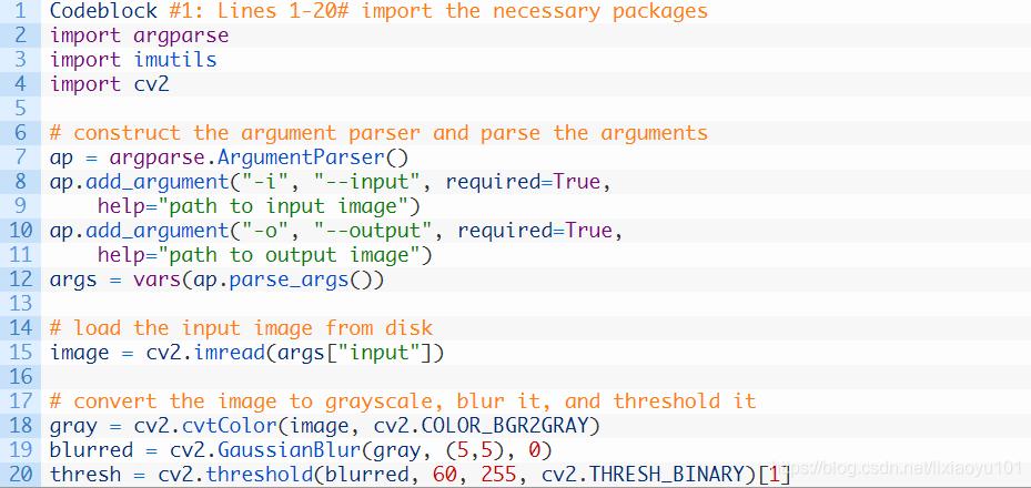 Python:關於命令列引數argparse寫入圖片路徑- IT閱讀