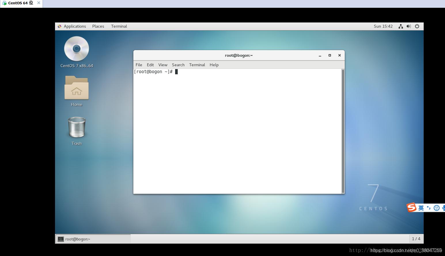 虚拟机系统下安装centos7及桌面系统- m0_38047259的博客- CSDN博客