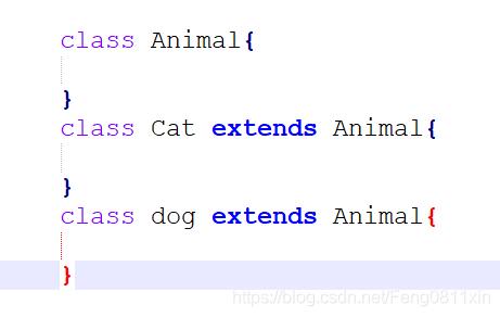 猫这类事物既具备猫的形态,又具备动物的形态。这就是对象的多态性。