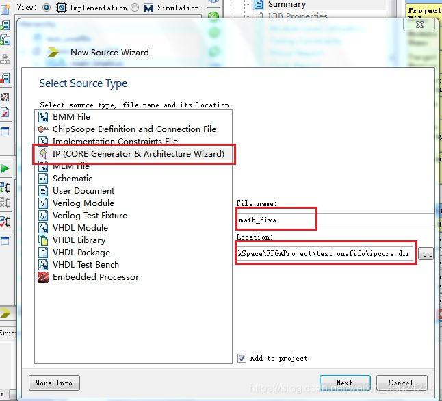 XILINX ISE14 7 除法器IP Divider Generator的使用教程- IT閱讀