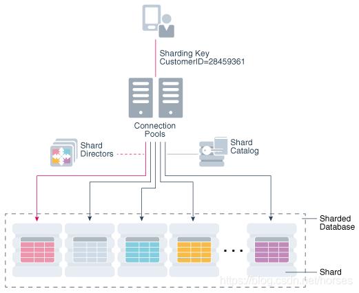 Oracle Sharding Architecture