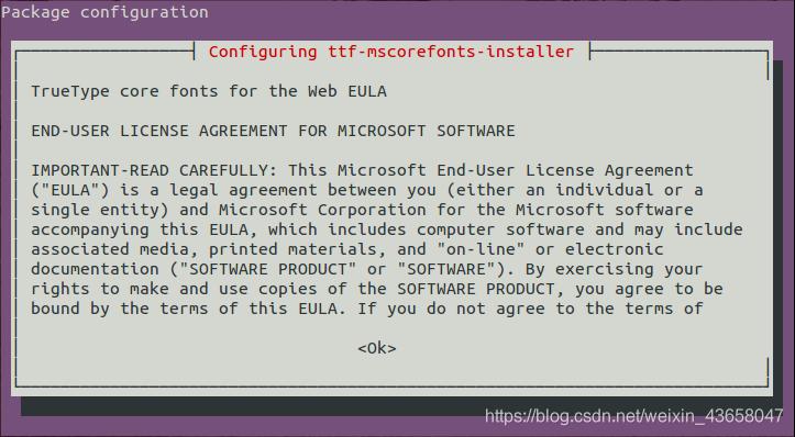 这是一个安装字体的许可证
