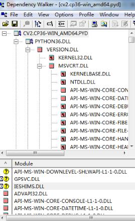 问题已解决】python 3 6下安装opencv-python解决cv2 DLL load