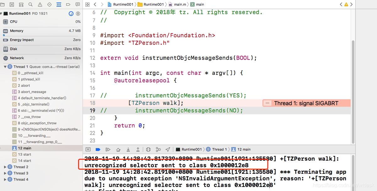 iOS进阶—Runtime源码解析:消息转发 - 代码天地