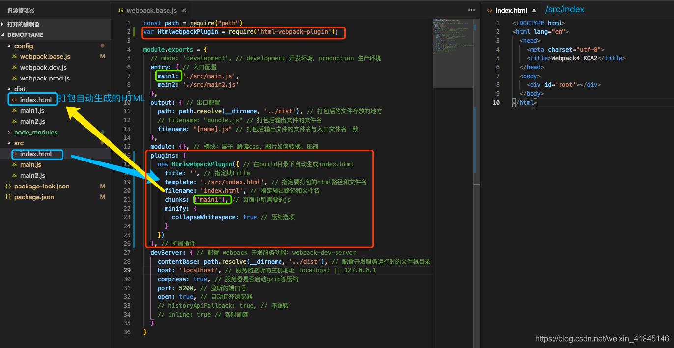 koa2+webpack4+React+pm2純手工架子搭建,SSR專案入門教程以及