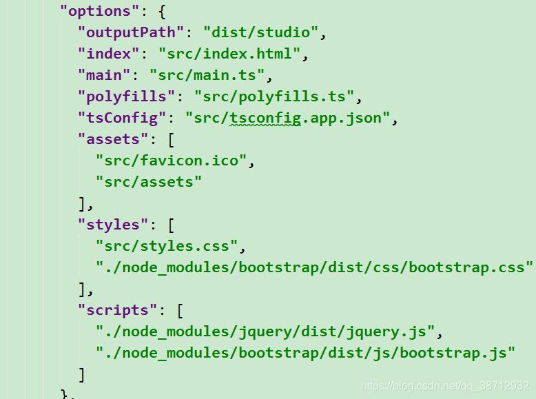 笔记:Angular6引入Bootstrap4(有个坑) - Agony的博客- CSDN博客