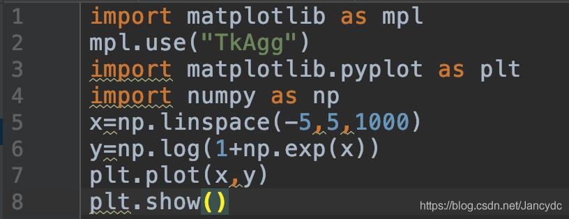必然要在导入matplotlib.pyplot库之前拔出第1和2行,否则是有效的