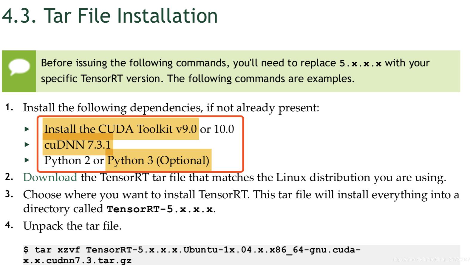 Tensorrt Python Api
