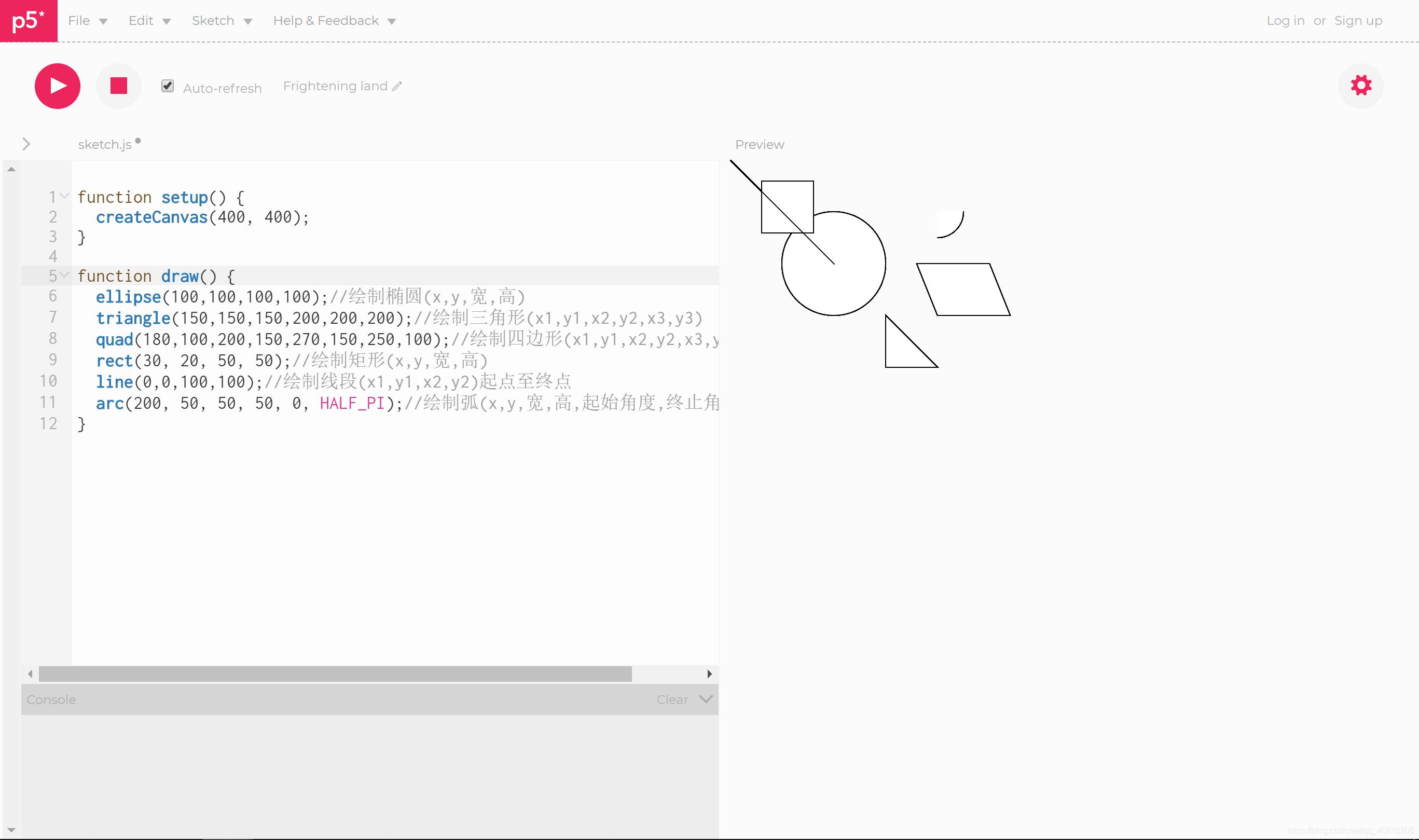 p5 js 1 0今天开始学码绘- bear_Tower的博客- CSDN博客