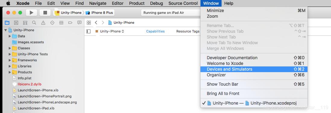 Unity - Xcode - Simulator(苹果手机模拟器) - star__119的博客