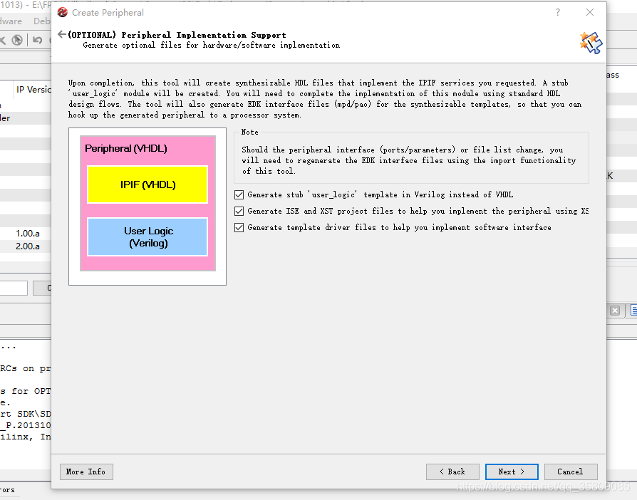 MicroBlaze自定义custom IP核实现流水灯(用verilog写的IP逻辑),有实例