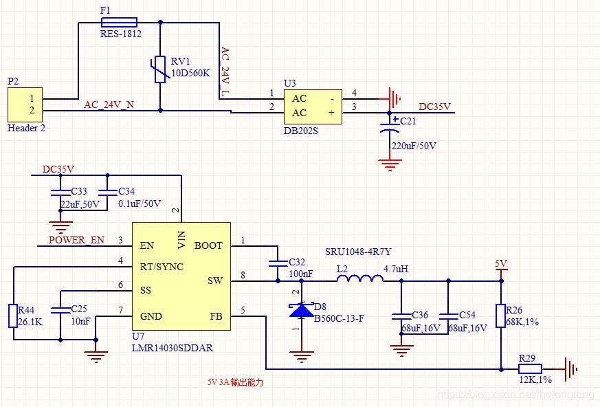 5v控制24v电路_24V交流转换5V直流开关电源的设计及浪涌电流的防护 - fhqlongteng的 ...