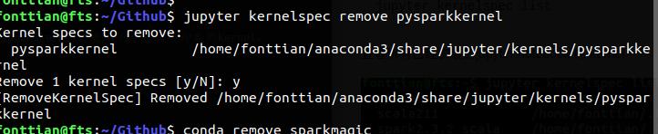 jupyter notebook 删除指定kernel - FontTian的专栏- CSDN博客