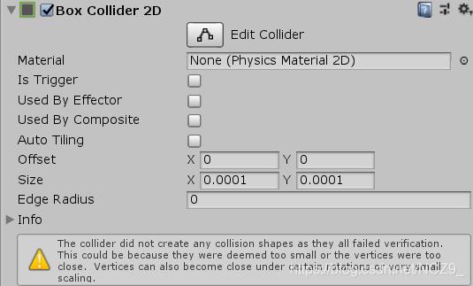 Unity 2D游戏:*** Collider 2D(2D碰撞器) - NCZ9_ - CSDN博客