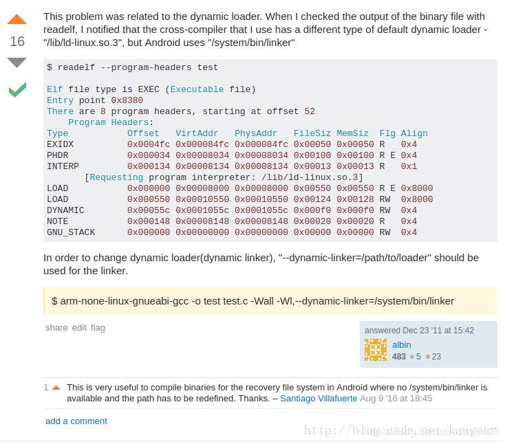 轉)如何將arm-linux-gcc編譯的動態連結helloworld在Android上執行- IT閱讀