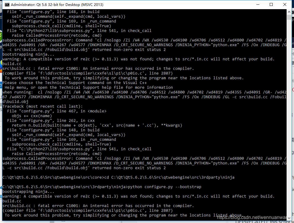 Windows下Qt5 6 2+vs2013单独编译webengine - wennuanwarm的博客