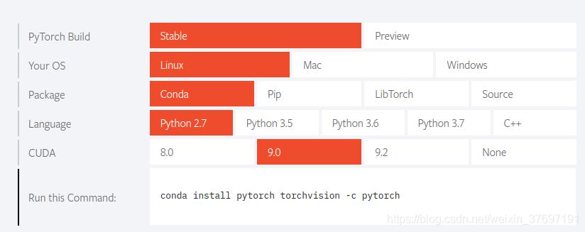 ubuntu上踩的坑—anaconda2安装pytorch - toutuo - CSDN博客