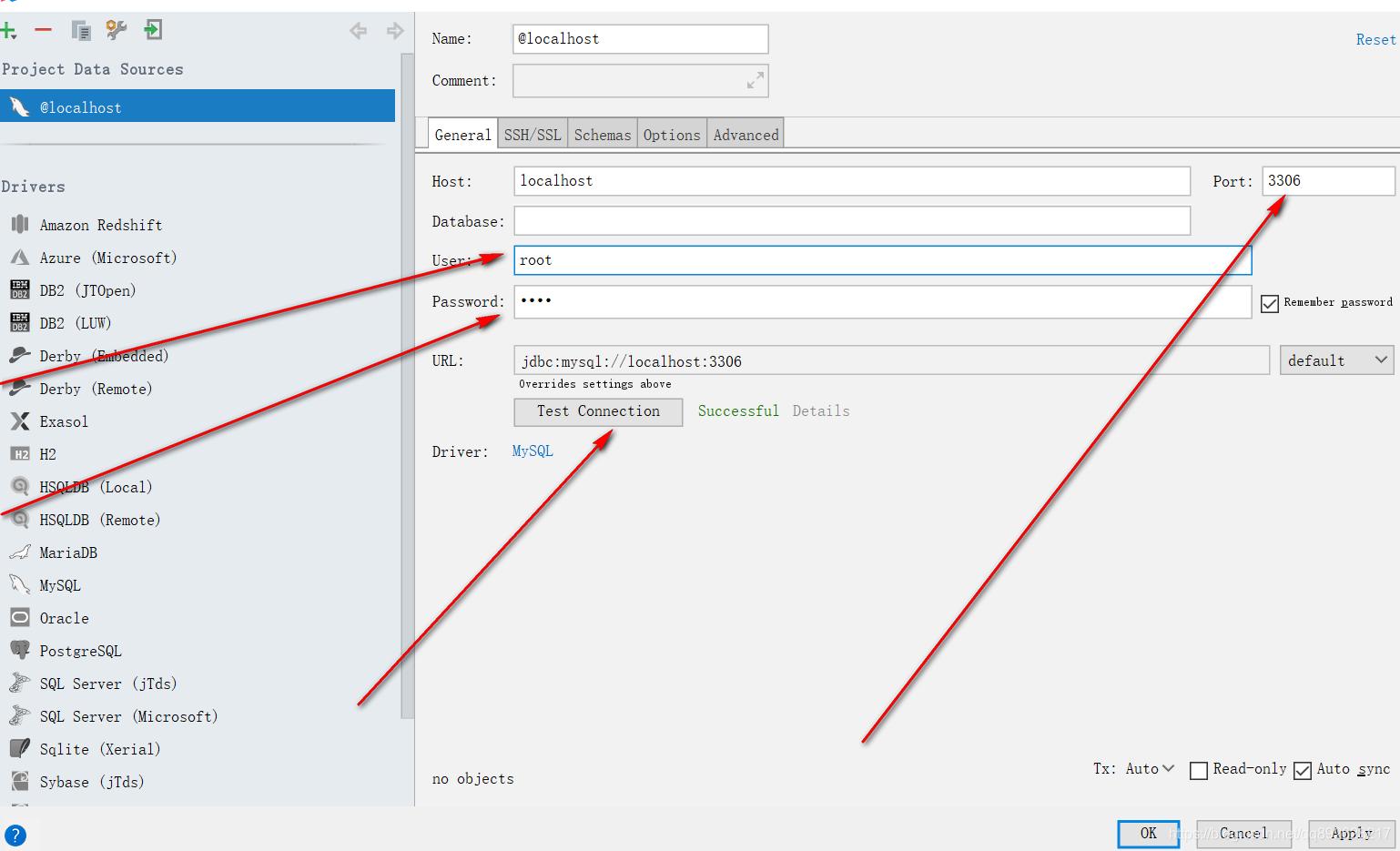 Intellij IDEA连接数据库sql集成工具建数据库执行sql语句运行sql文件教程