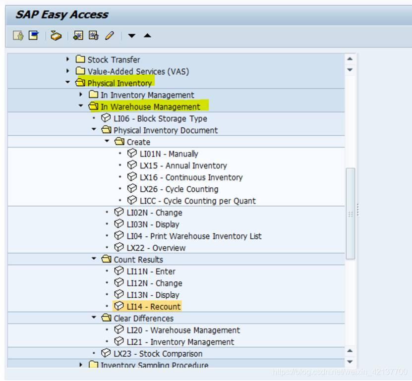 SAP WM层面的盘点流程里并无偷懒技巧之设计? - 喜欢打酱油的老鸟