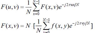 二维离散傅里叶变换公式