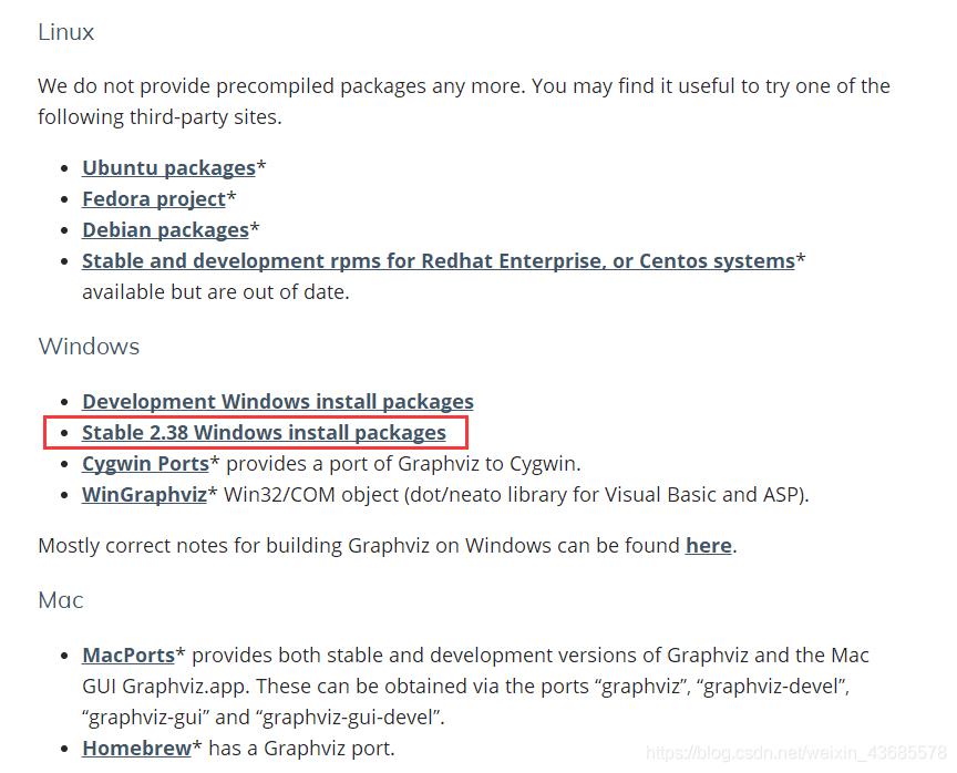 linux、windows,mac都支持的哦,小编自己用的win10,所以点击的小红框中内容,点击后推荐下载zip进行安装,可以选择安装目录,msi格式的使用的是默认路径,不能选择