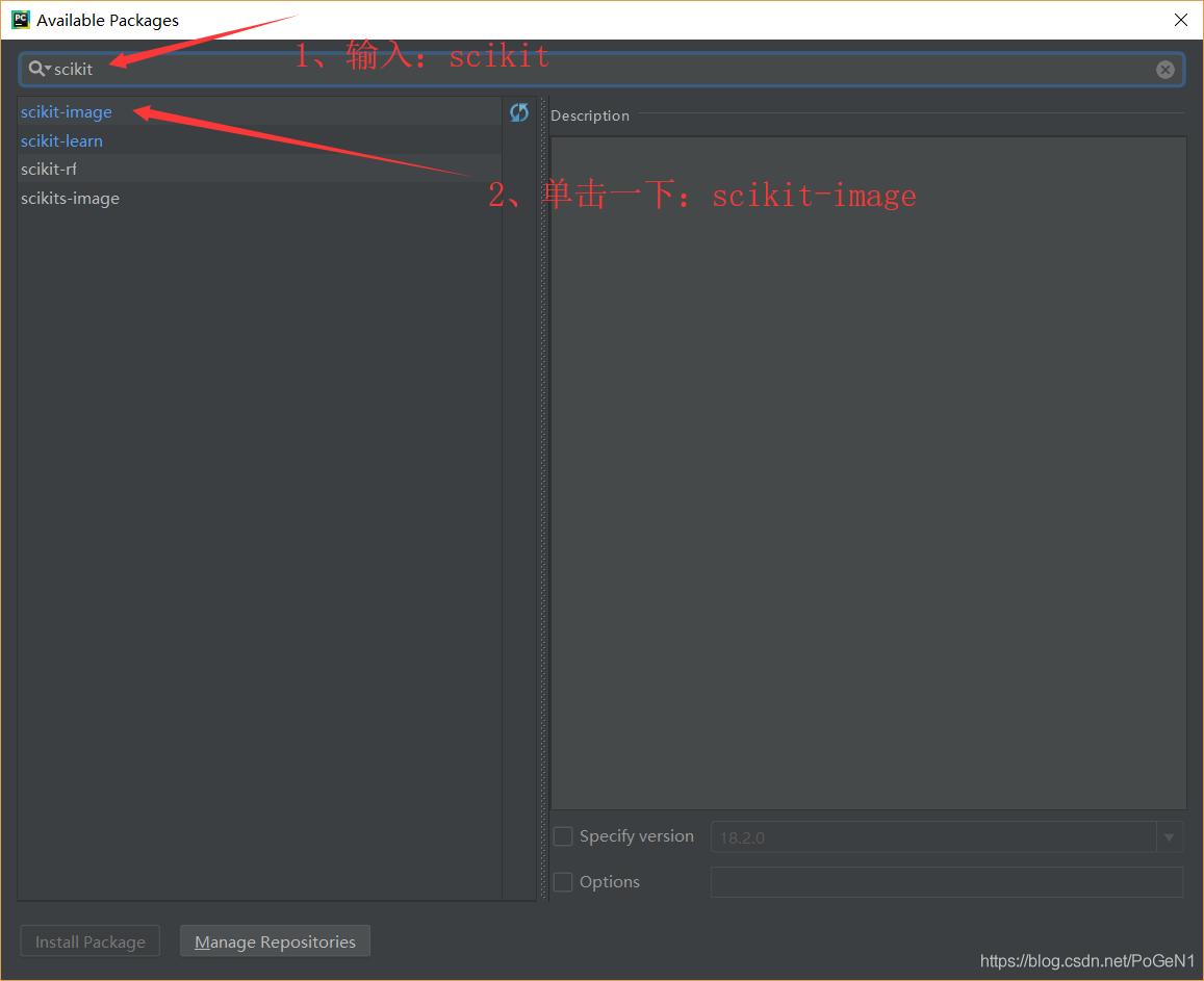 pycharm如何安装skimage (scikit-image),tensorflow等其他模块