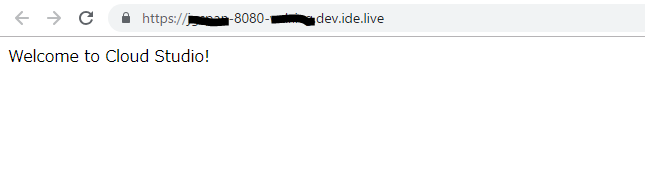 访问应用URL
