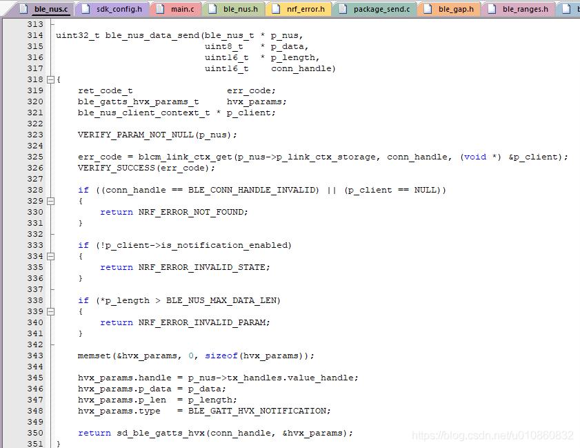 如何提高Nordic nrf5x SDK15 2 nus服务的发送速率- Awen-Linux - CSDN博客