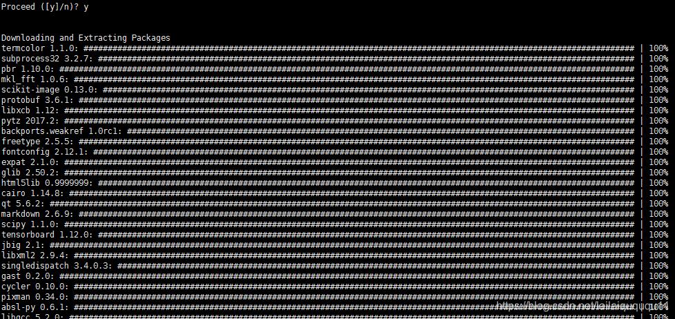 docker一些说明及ubuntu下anaconda下配置tensorflow和Jupyter