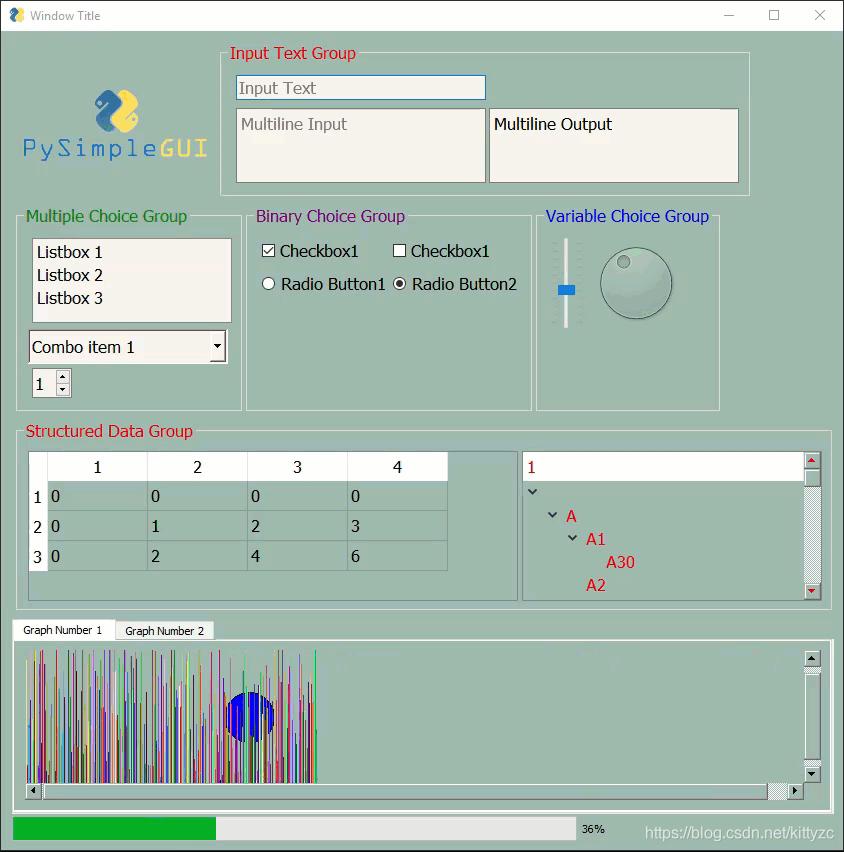 python图形界面PySimpleGUI - kittyzc的博客- CSDN博客